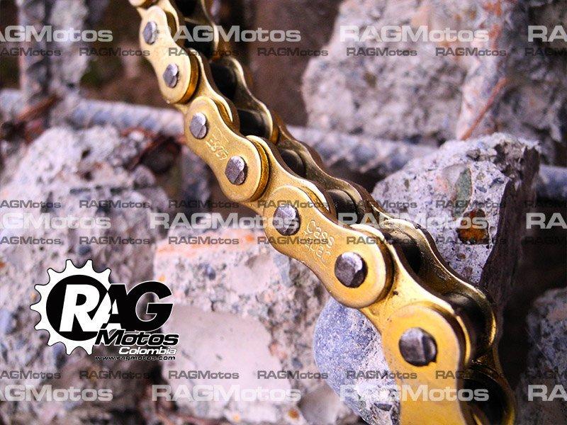 cadena dorada reforzada