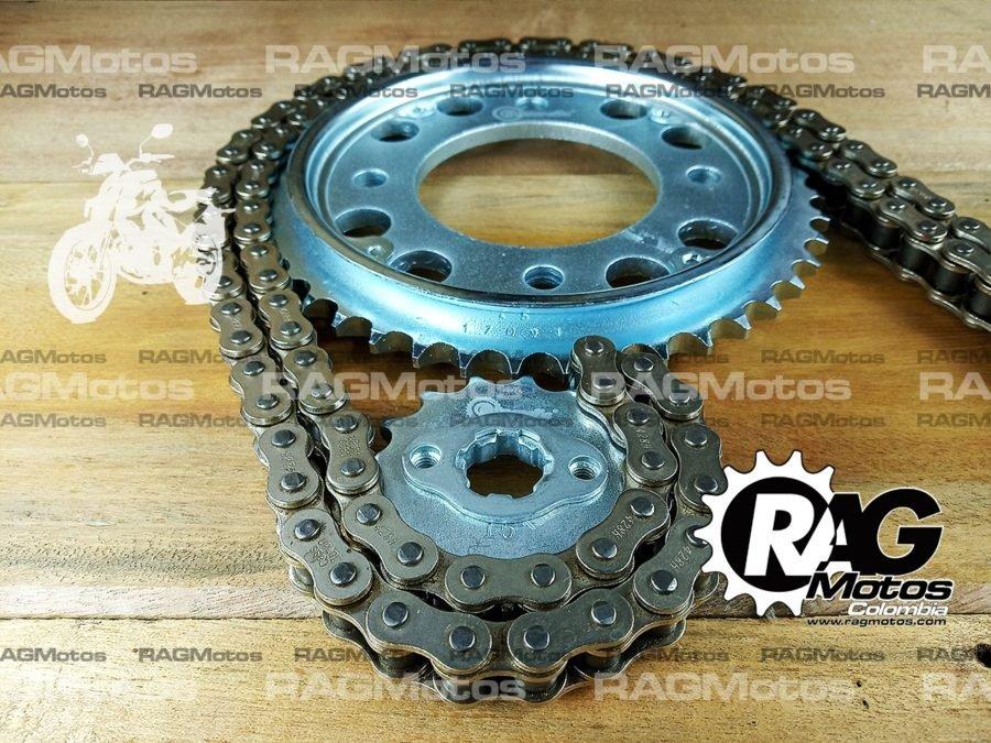 kit racing honda cb 160 f cassarella catalina cadena reforzada