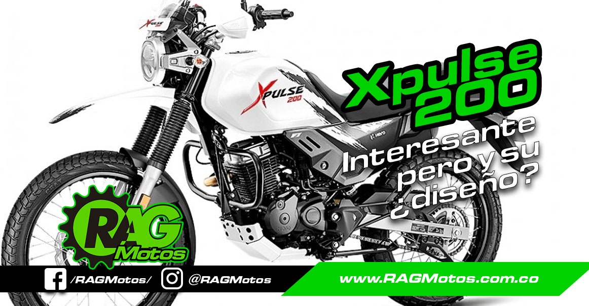 Xpulse 200 Hero, Gigante del Off Road pero y su diseño?