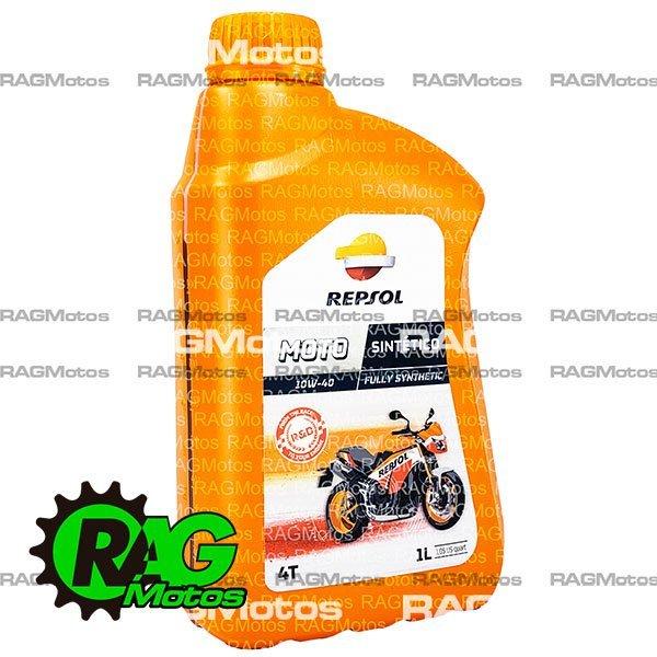 aceite moto sintetico repsol 14w40