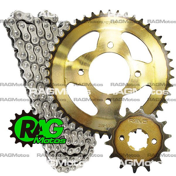 apache 180 rtr tvs kit arrastre original cadena reforzada orrinada