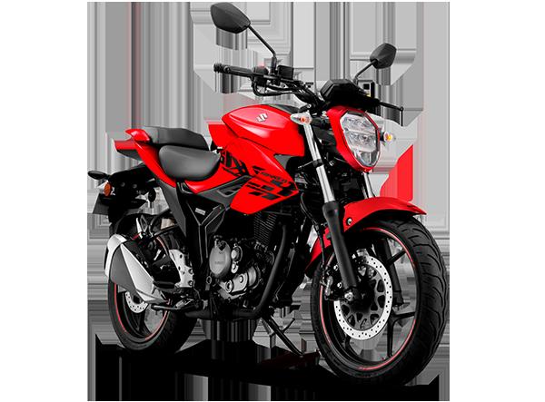 Suzuki Gixxer 150 Color Rojo Nuevo Modelo 2021