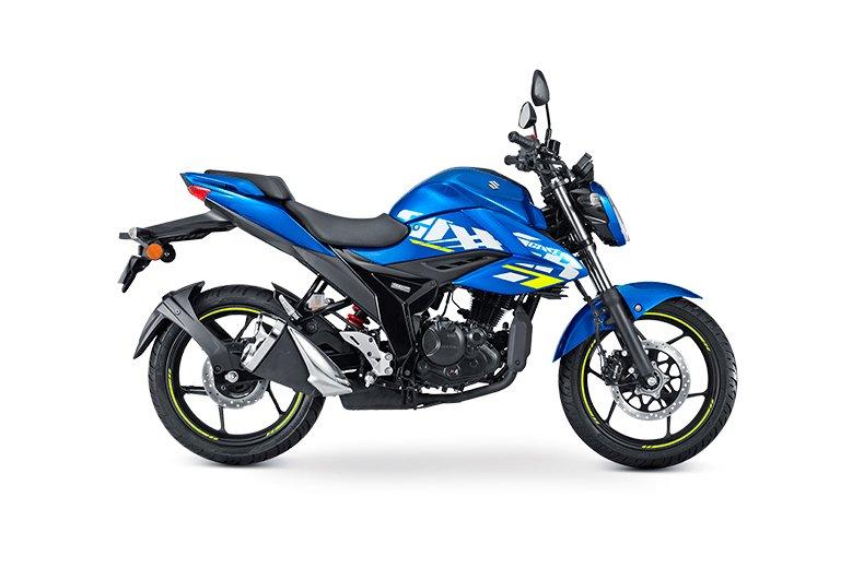 Gixxer 150 Nuevo Modelo 2021 Clasico Azul Suzuki