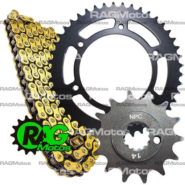 adventour 250 TT akt kit arrastre original cadena orrinada