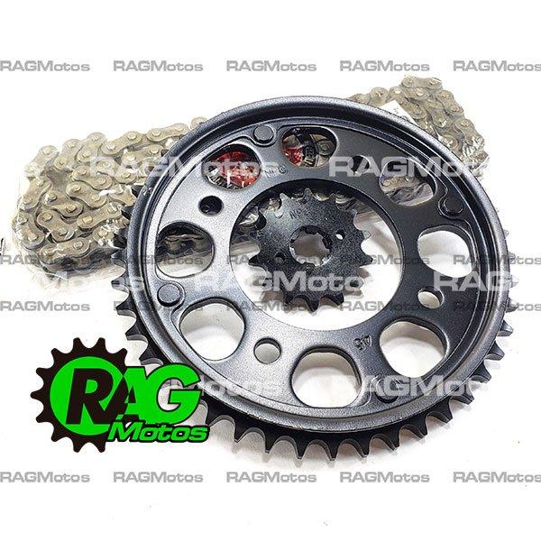 kit arrastre original honda cb190r cadena reforzada oring